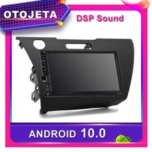Frame android 10.0 car radio Player for Honda CR-Z 2010 Car GPS HONDA CRZ 2011 CAR multimedia CANBUS Bluetooth Stereo headunit