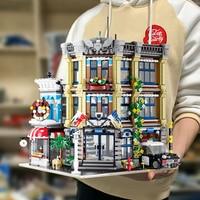 Creator Expert Street View UG10199 3111Pcs Police Station Bricktoria Modular MOC Bricks Model Building Blocks Toy Grand Emporium