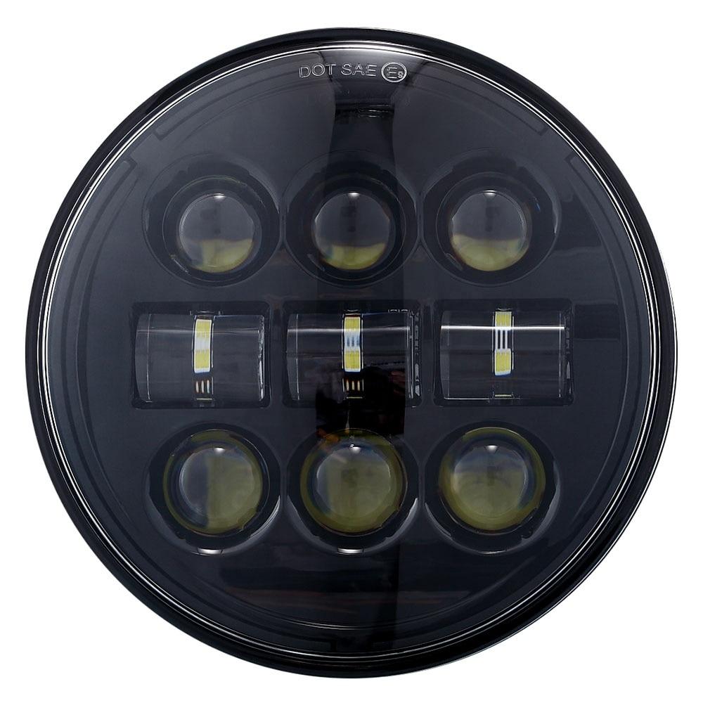 Faro de motocicleta 1PS 5,75 pulgadas 45W Led con alta-baja frecuencia impermeable IP67 para- 11 VRSCD y VRSCDX 08-11 FLSTSB