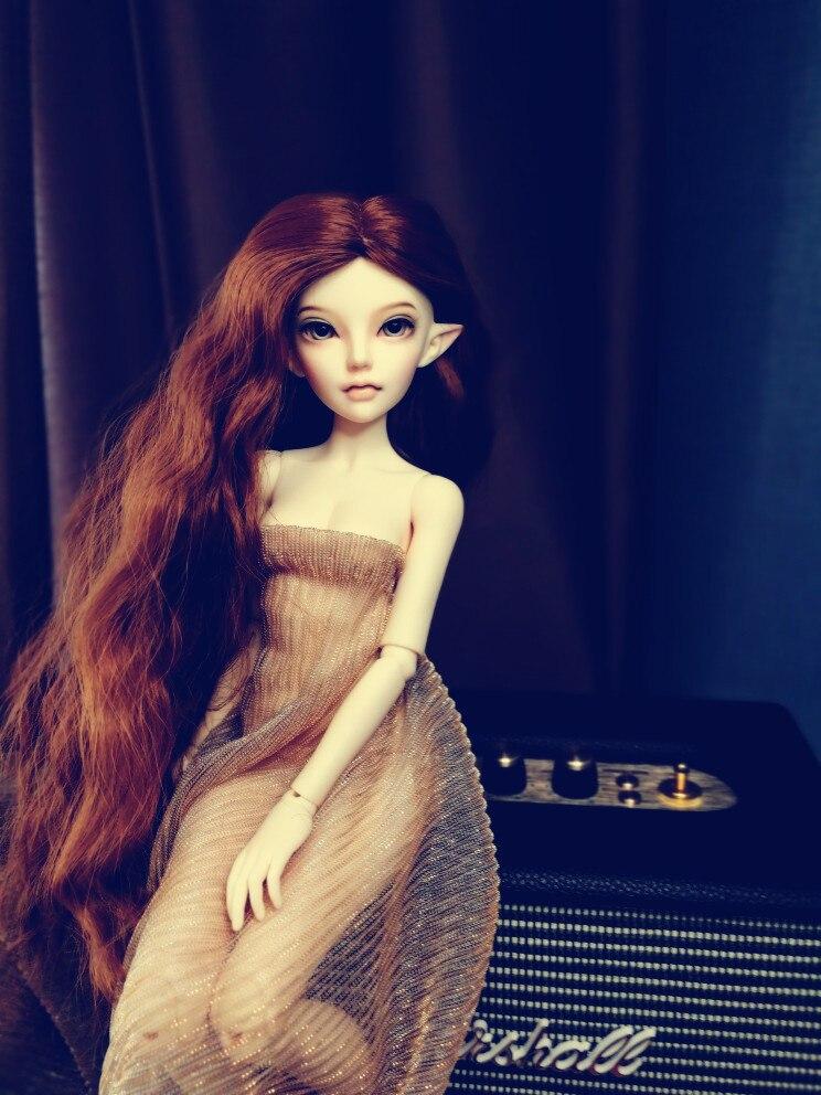 Muñeca BJD 1/4-elfo Siean moda muñeca conjunto regalo de cumpleaños
