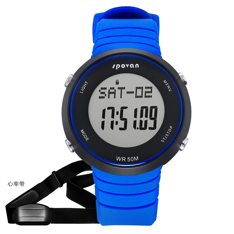 selling watches the heart rate with intelligent monitoring wireless heart rate multi-function running sports watch