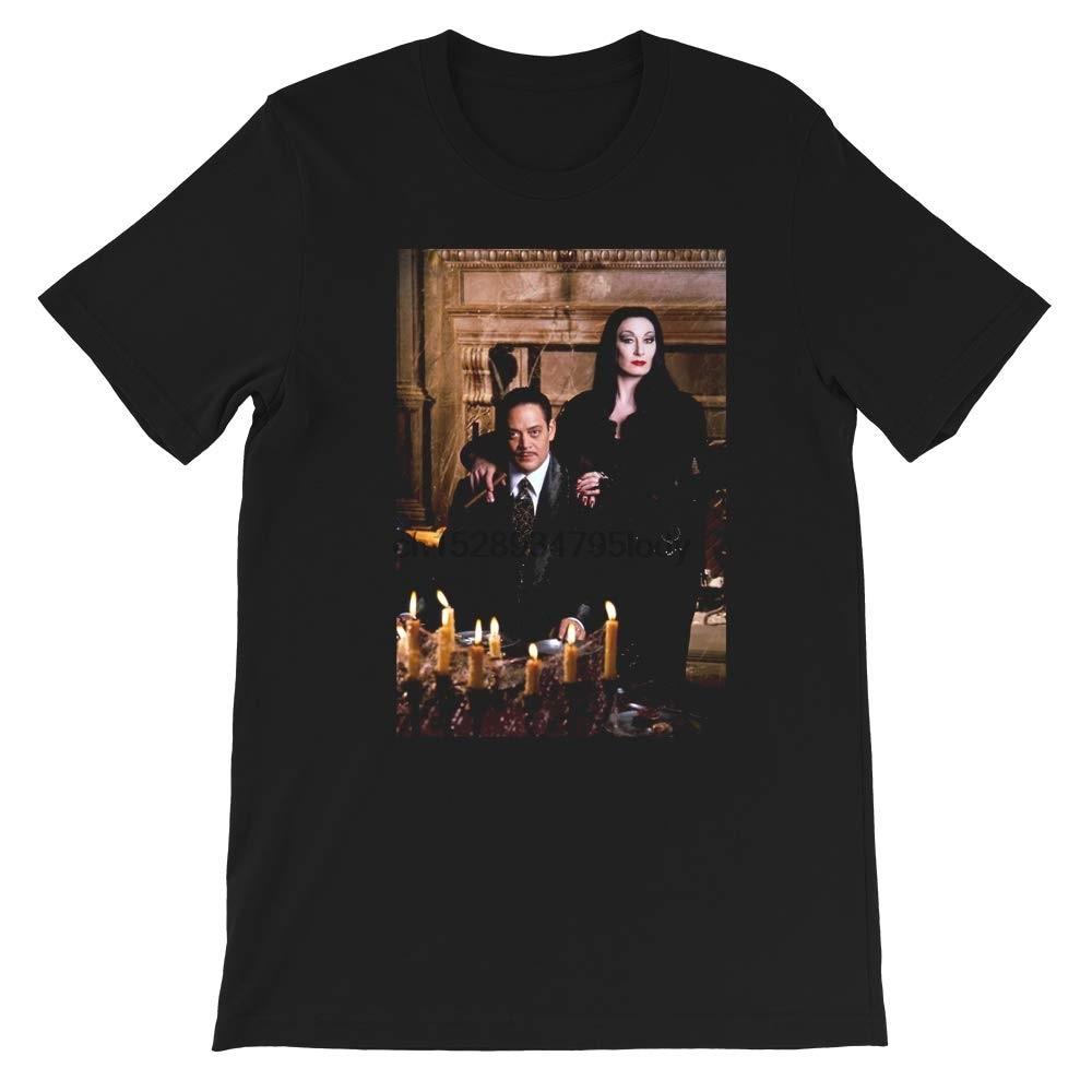 Cara Mia Mon Cher cita Addams valores familiares Horror Tv película Morticia Addams regalo para hombres mujeres chicas Unisex camiseta
