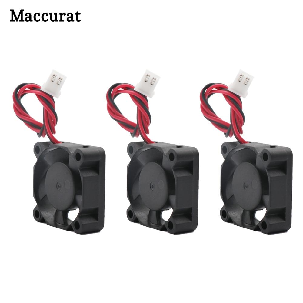 Maccurat 3D Pinter Teile 3010 fan 30MM 30x30x10MM 12V 5V 24V 2Pin DC Kühler Kleine Lüfter DIY Reprap Für j-kopf hotend