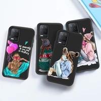 trend mom phone case for umidigi s5 pro soft tpu case on umidigi a7 pro s5pro black silicone back cover bumper painted bag funda