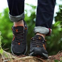 mens trainers Fashion Non-Slip Wear-Resistant Outdoor Waterproof Hiking Shoes Sneakers zapatillas deportivas hombre 2019 #y3