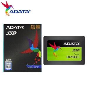 ADATA SP580 SSD 120 ГБ 240 ГБ для настольного ПК 2,5 дюйма SATA III HDD жесткий диск HD ноутбук 480 ГБ 960 ГБ Внутренний твердотельный накопитель