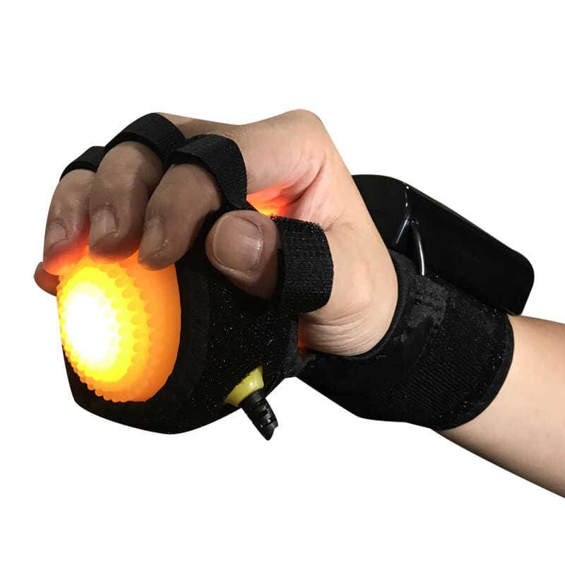 معدات رعاية المسنين منتجات العلاج الطبيعي المعصم الجبيرة إصبع اصبع القدم التقويمية تدليك اليد الكرة