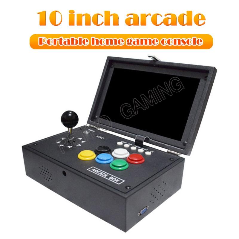 New Pandora CX Box Mini Retro Arcade Game PCB Board 3D Wifi 10 Inch Screen Console Save Function Support 8000 games 2-4 Players
