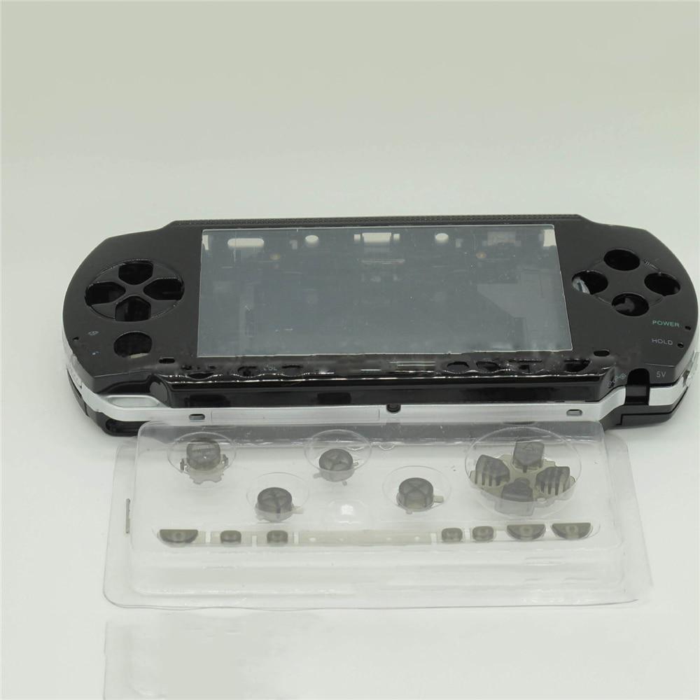 Per PSP1000 Cover di Ricambio Caso di Borsette con Bottoni Set Per Sony PSP 1000 Console di Gioco Controller Copertura Completa Set di Riparazione parte