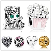 original 925 sterling silver heart and arrow tattoo sweet tree monster charm beads fit pandora bracelet necklace jewelry