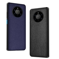 brand phone case for huawei mate 40 pro plus crocodile texture genuine leather shockproof back cover