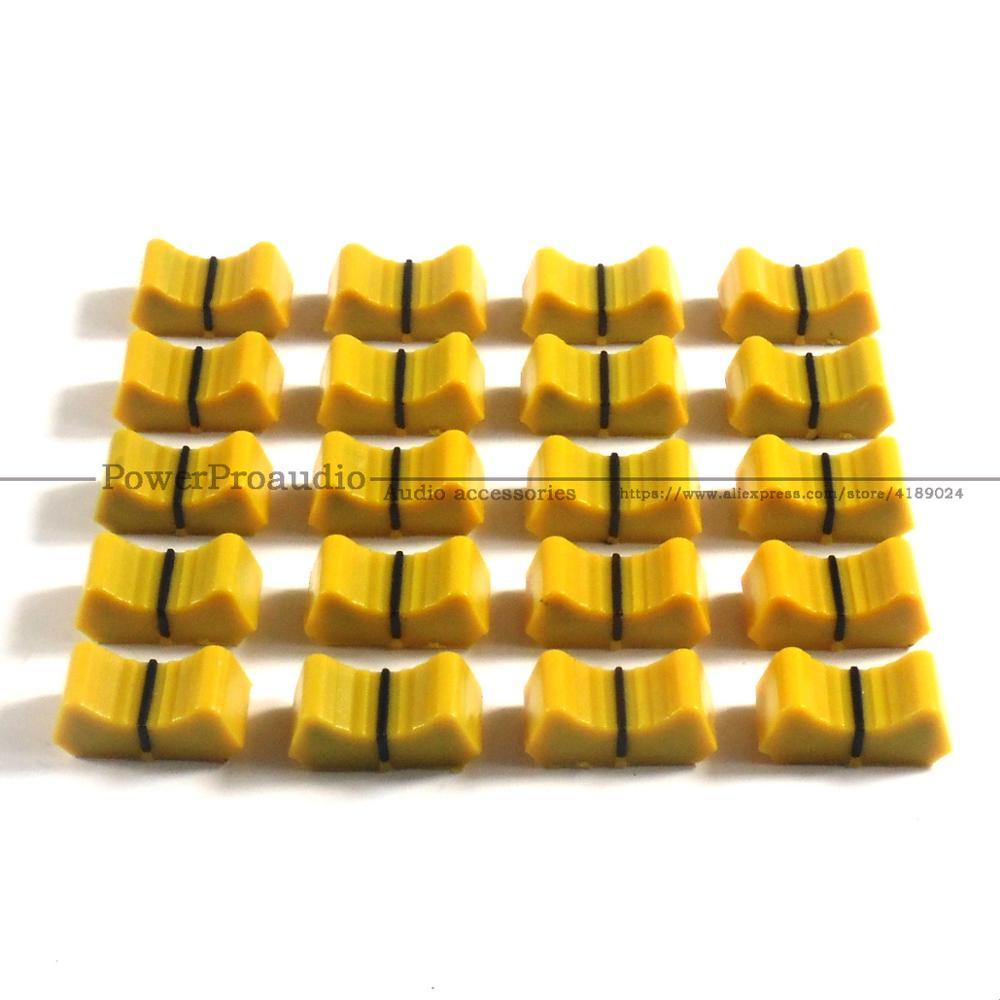 20 piezas mezclador fader Slider Fader, perillas de reemplazo para ALLEN &...