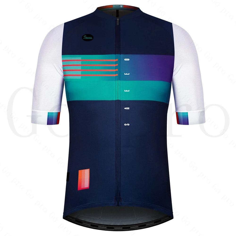 Pro-Ropa De Ciclismo para Hombre, Maillot corto, Verano, España, 2021