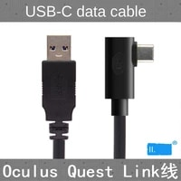 for oculus link usb c steam vr quest2 type c 3 1 data cable elbow selectable 3m5m8m8m
