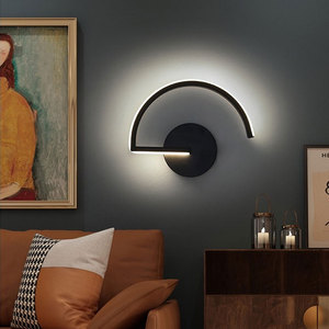 8W Nordic Modern LED Wall Lamp Home Living Room Modern Minimalist Bedroom Bedside Lamp Wall Lamps for Bedroom  Bedroom Decor