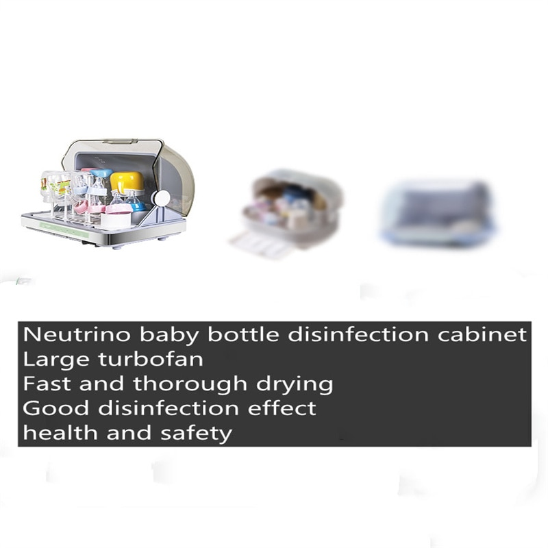 2021 Newest   Baby Bottle Sterilizer   Drying and Disinfection Cabinet    Baby Breast Warmer enlarge