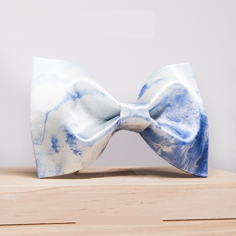 2020 Fashion Men's Bow Tie High Quality Art Print Bowtie Great For Party Wedding Tie For Men