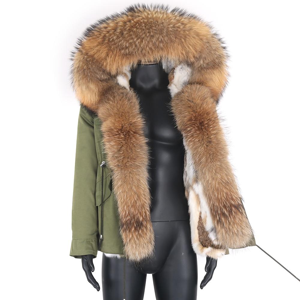 Короткая мужская парка 7XL, зимняя куртка из натурального Лисьего меха, с воротником из меха енота и капюшоном, Толстая теплая Модная верхняя ...