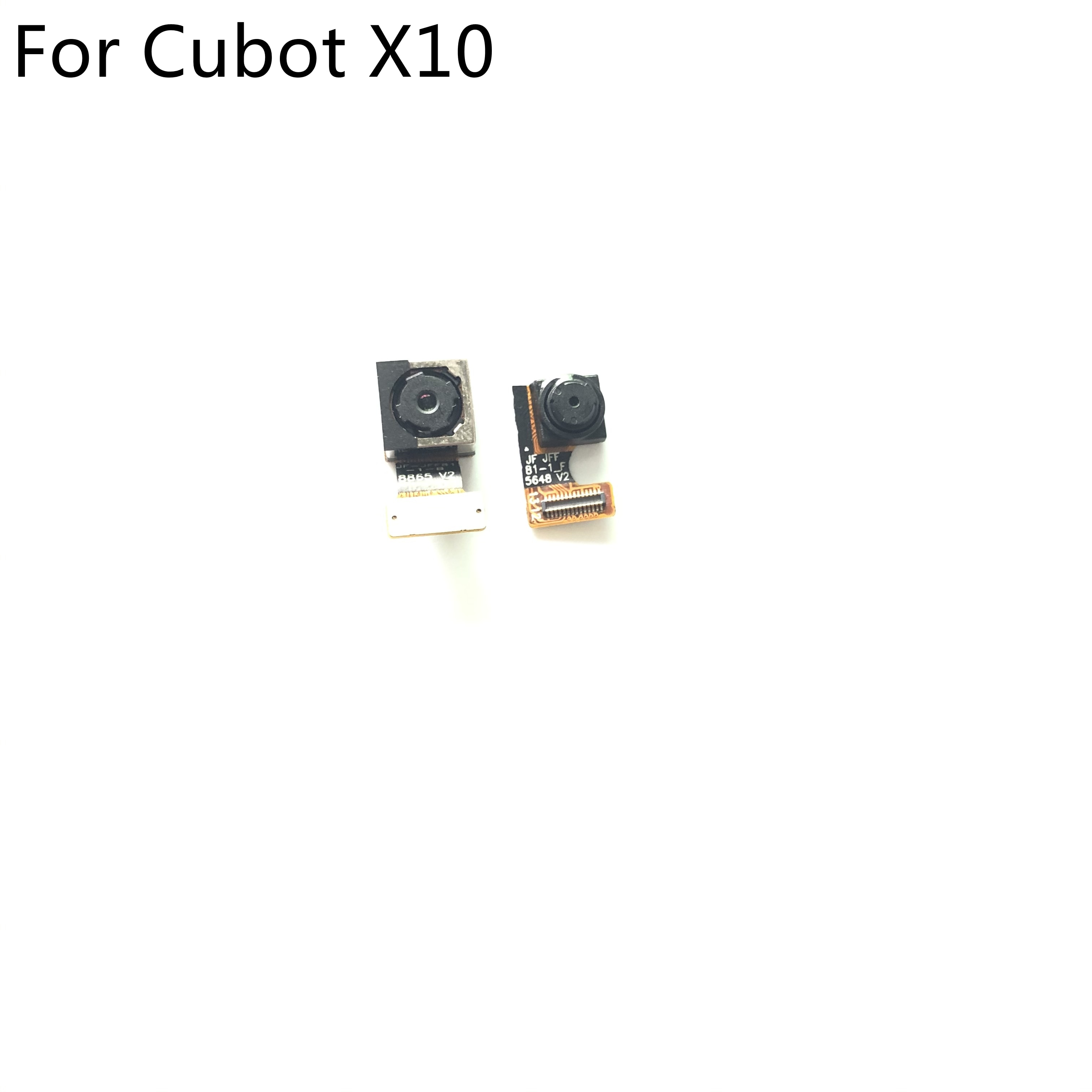 "Cubot x10 usado voltar câmera 13.0mp + câmera frontal 8.0mp módulo para cubot x10 mt6592 5.50 ""720x1280 smartphone"