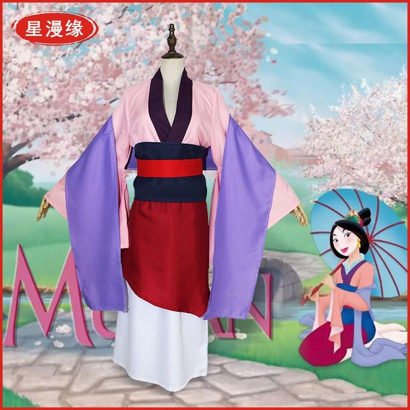 Hua cosplay adulto roupas mulan cosplay adulto mulher criança roupas personagem adereços vestuário roupa halloween filme super herói