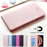 for iphone xr case luxury leather phone case on iphone x xs max case flip magnetic wallet cover for i phone xr apple case hoesje