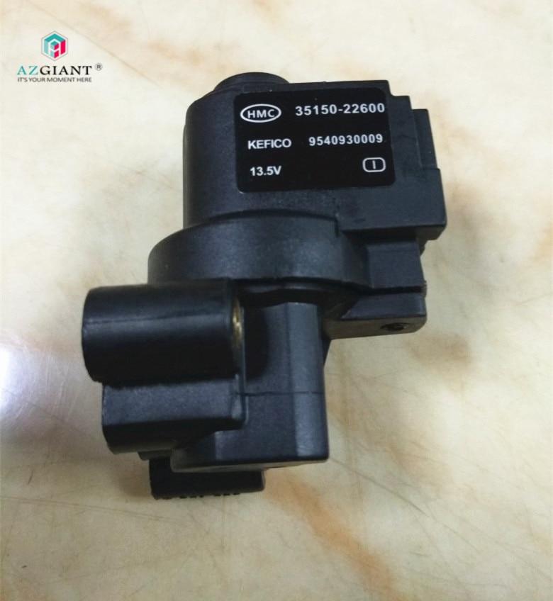 Leerlauf geschwindigkeit motor regelventil schrittmotor für Hyundai Elantra 1,6 Kia null 1,3 35150 22600