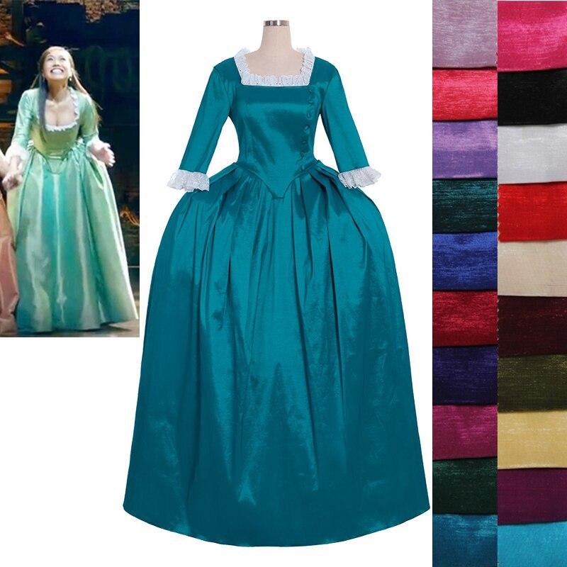 Costumebuy-فستان حفلات مع تمويه للنساء ، مصنوع حسب الطلب ، ثوب روكوكو ، ماري ، هاميلتون ، موسيقى الروك ، تأثيري