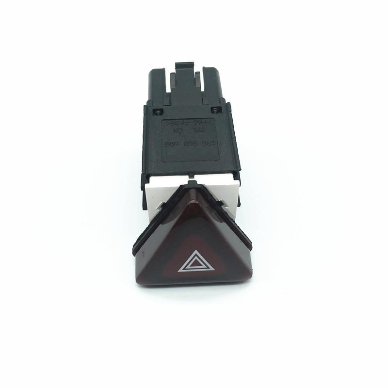 Car Hazard Warning Light Double Flash Switch Button Emergency Signal Lamp Switch For VW Jetta 5 GOLF 5 MK5 RABBIT 18G 953 509