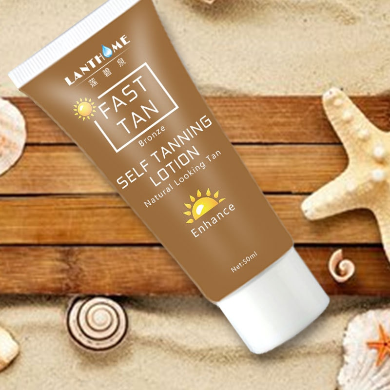Natural Self Tanning Lotion Cream Fast Tanned Bronzed Cream Skin Beauty Tool Bronzer Body Beauty Cos
