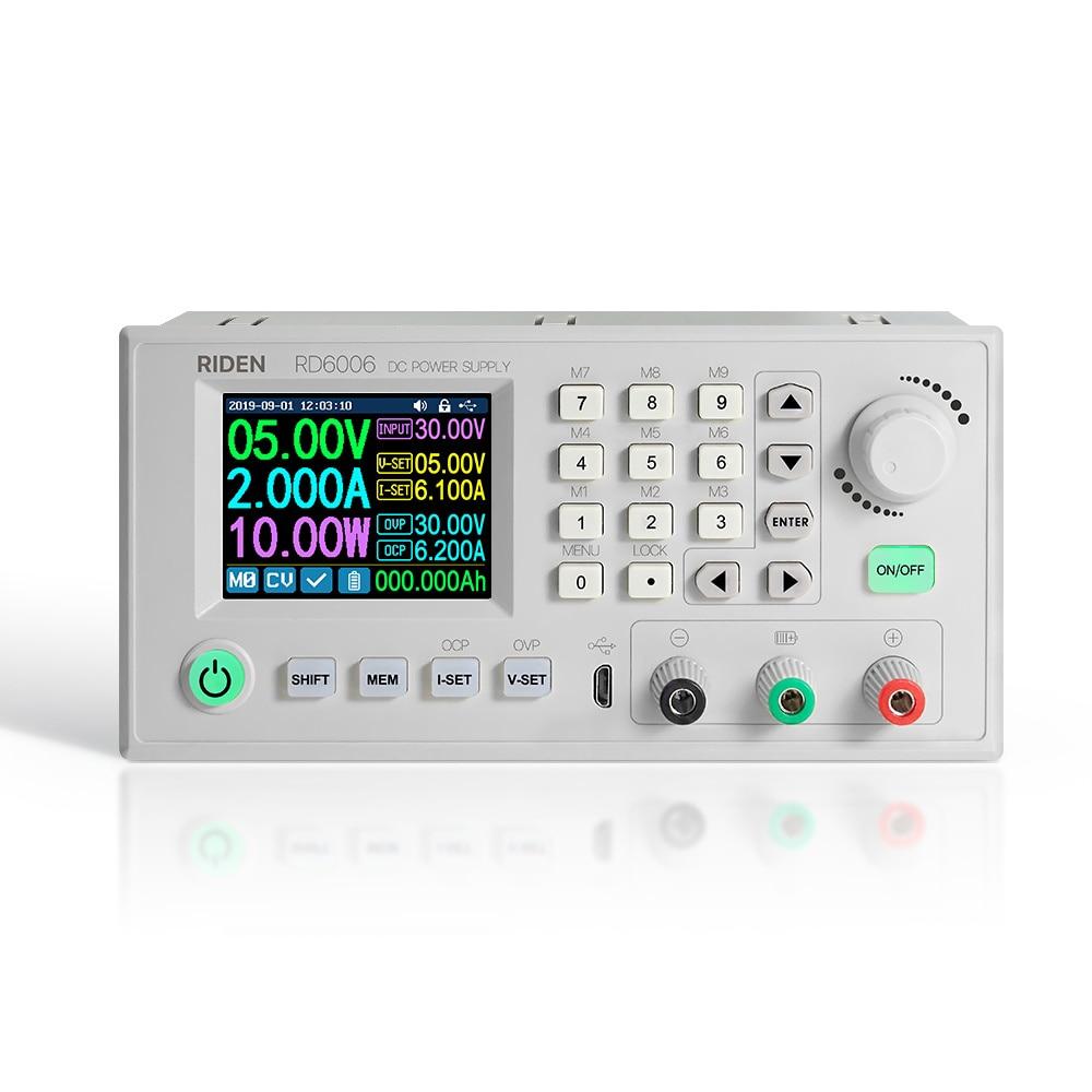 RD6006/RD6006W USB WIFI DC-DC Spannung Strom Schritt-down Power Supply Module 60V 5A Buck Spannung Konverter voltmeter