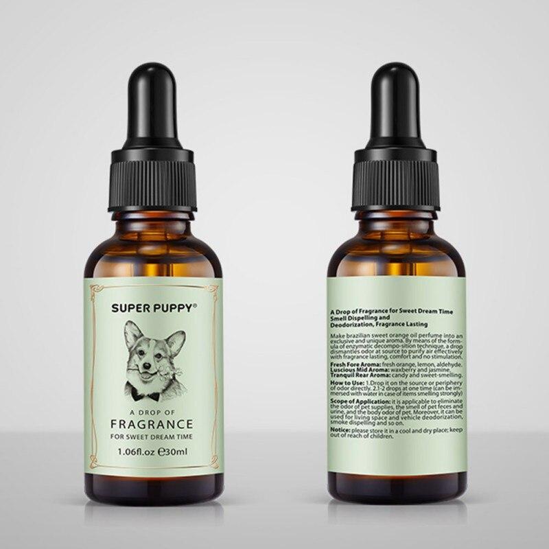 Odor Eliminator Drops For Dog Cat Piss Urine Deodorizer Natural Gentle Smell For Cat Litter Dog Litter Odor Cleaner