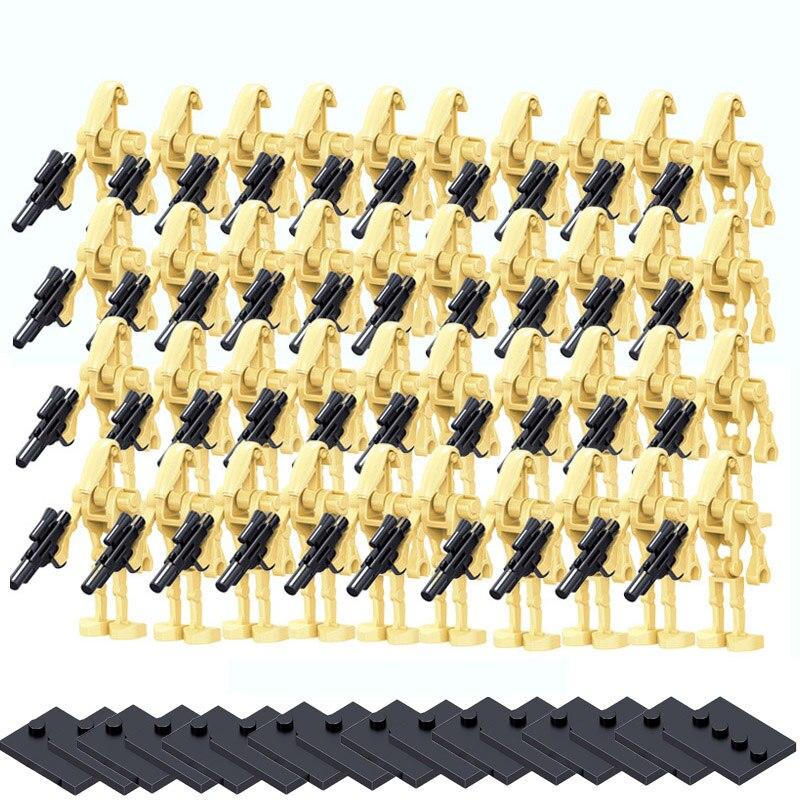 100pcs-all'ingrosso-space-star-war-battle-droid-army-figure-model-set-building-blocks-kit-brick-star-war-giocattoli-per-bambini