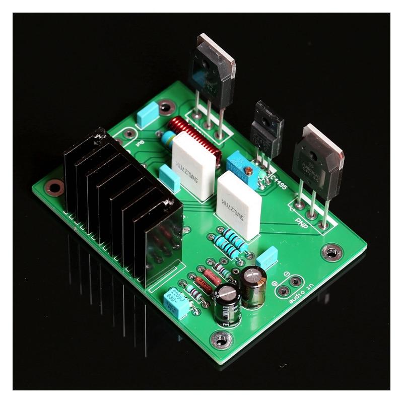 Kaolanhon DC25-55v*2 150w UPC1342V Mono HiFi Level After Power Amplifier Board Home Audio Amplifier Board NJW0302G/NJW0281G