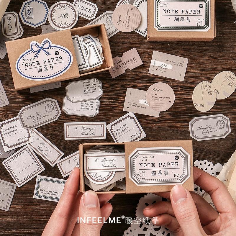 45-pz-pacco-vintage-kraft-paper-memo-note-appunti-scrapbook-decorazioni-carta-per-etichette-per-scrapbooking-diario-album-notebook