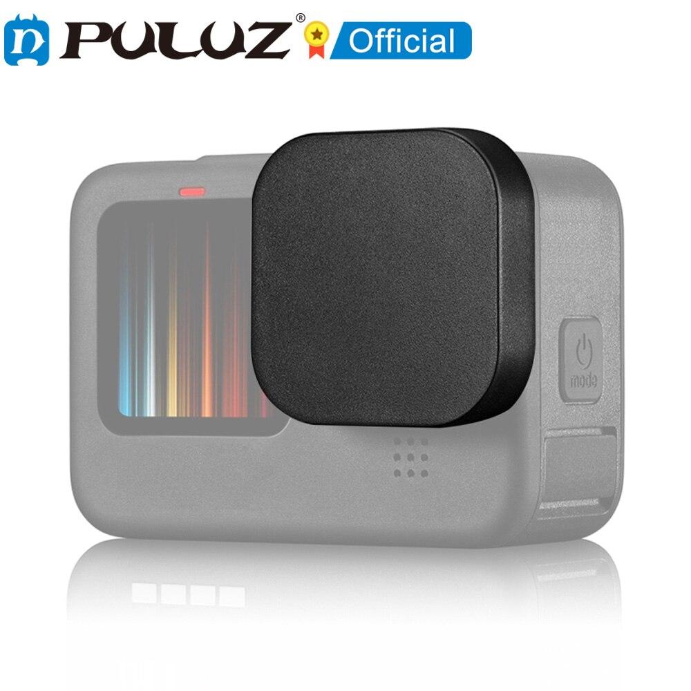 PULUZ-Protector de pantalla lente de cmara GoPro héroe 9 tapa lateral de...