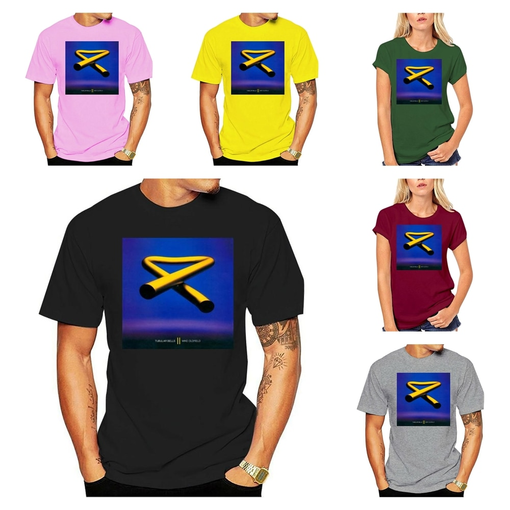 Camiseta Unisex tamaño S, M, L, Xl, 2xl 3xl Mike Oldfield 1970...