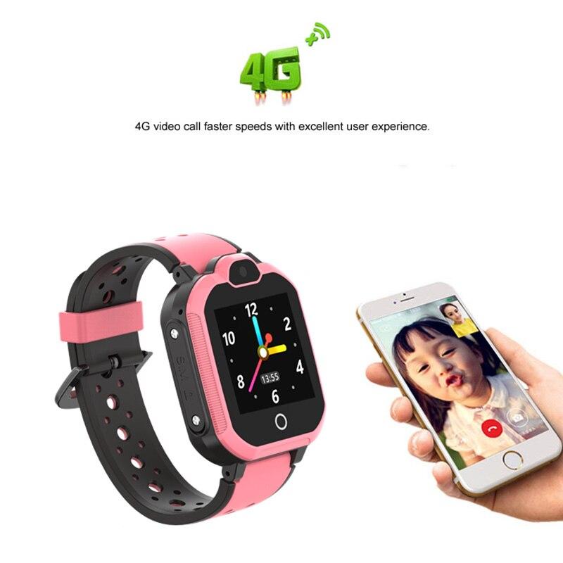 Reloj inteligente localizador GPS para niños 4G con alarma de doble núcleo Bluetooth WiFi para regalo de niños VH99