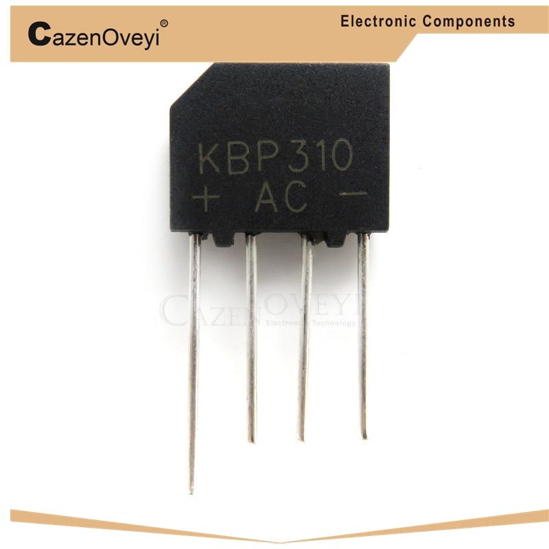 10 teile/los KBP310 KBL-310 3A 1000V Bridge Rectifier neue und original IC In Stock