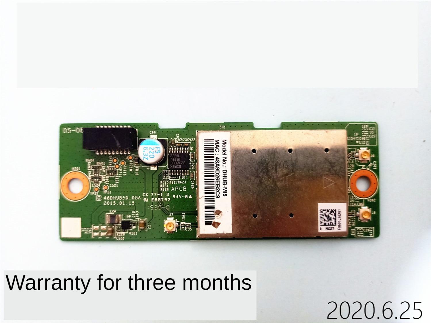 ل شاومي L48M3-AA LCD TV بطاقة شبكة لاسلكية واي فاي وحدة لوحة الدوائر 48DHUB50