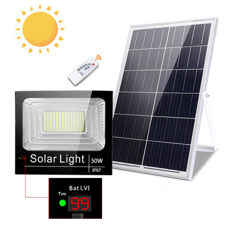 Foco-مصباح كشاف led يعمل بالطاقة الشمسية مع مستشعر حركة ، إضاءة خارجية ، إضاءة طبيعية ، بناء ، 50 واط ، 100 واط ، 150 واط ، 200 واط