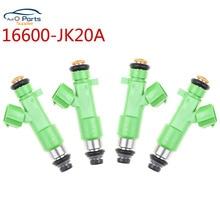 4 pièces 16600-JK20A injecteur de carburant pour Infiniti EX35 2008 ~ 2012 FX35 2009 ~ 2012 G35 2007 ~ 2008 M35 2009 ~ 2010 3.5 16600JK20A 195500-0940