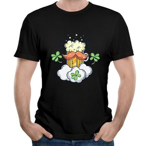 Hot Sale Saint Patrick's Day Prevalent Summer Tops Tees Graphic New Design T-Shirt Europe Print T-Shirts For Men