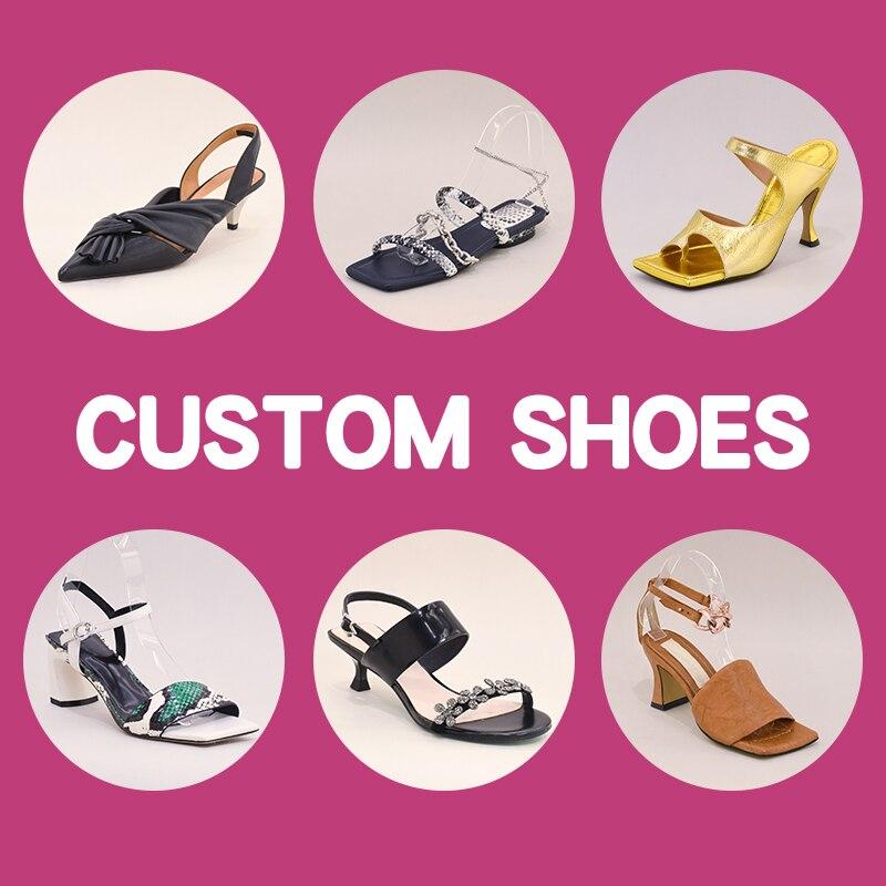 حذاء مصنوع حسب الطلب موك صغير متاح حجم 32-46
