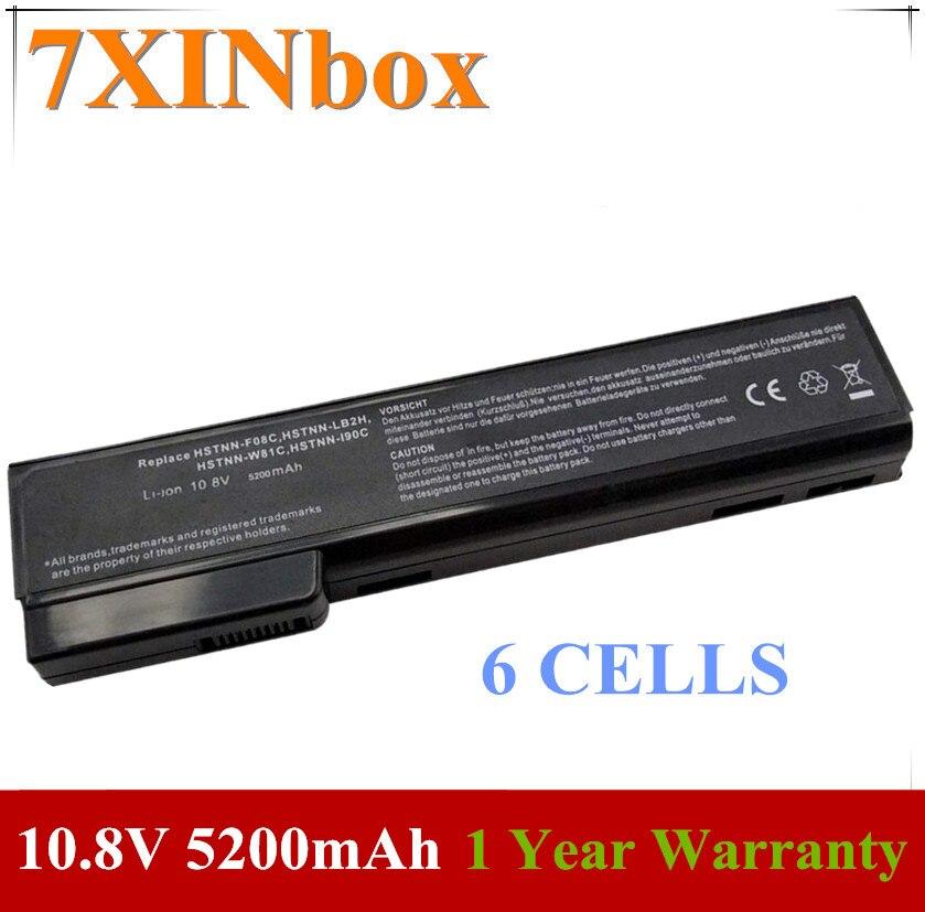 7XINbox 10,8 V 5200mAh HSTNN-CB2F HSTNN-UB21 HSTNN-W81C batería de ordenador portátil para HP CC06 CC06X CC06XL CC09 QK642AA QK643AA