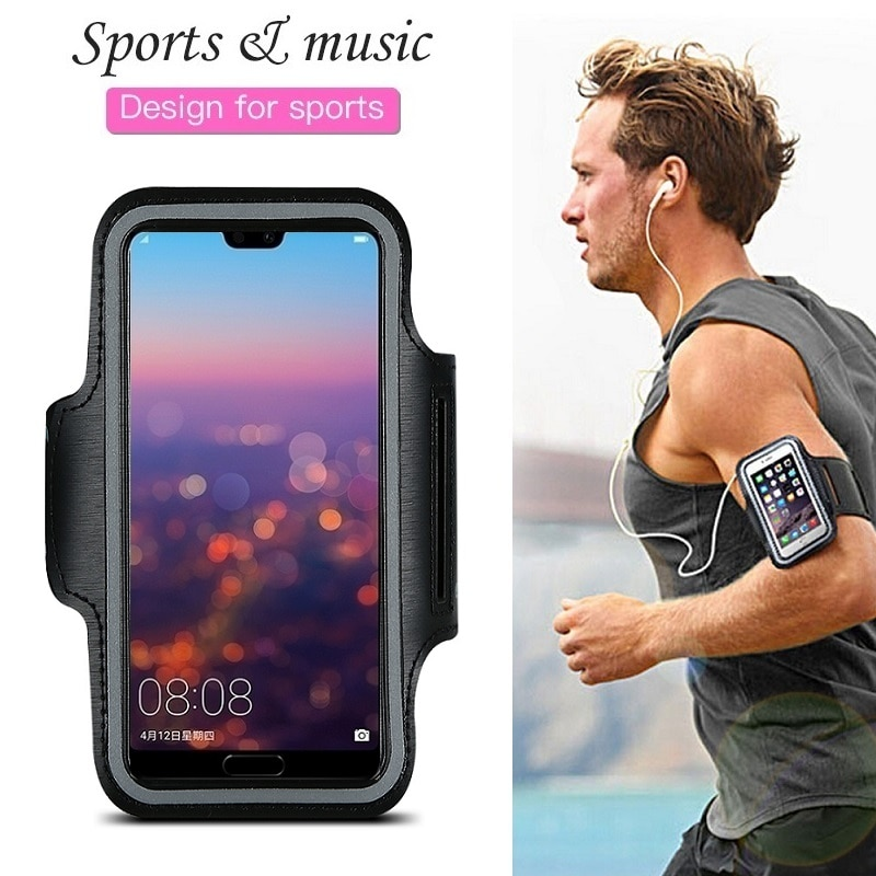 Sports Running Phone Bag Case for Huawei P30 P20 P40 Pro P10 P9 P8 Lite 2017 Mate 30 20 10 Lite Pro