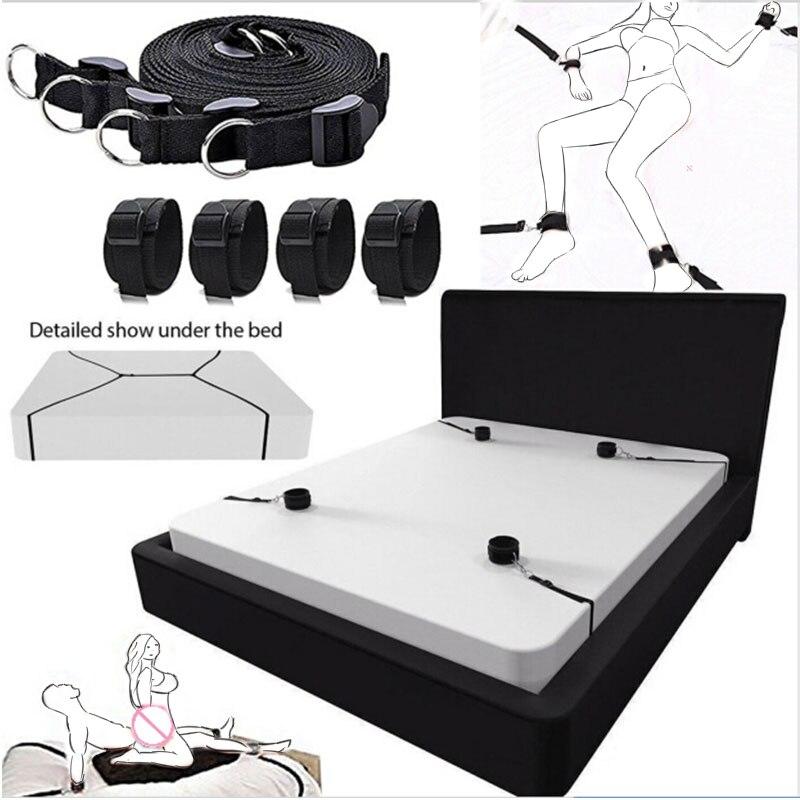 Products  Toys s Games BDSM  Bondage Set Handcuffs Ankle Cuff Restraints  Toys For Woman Couples  Shop