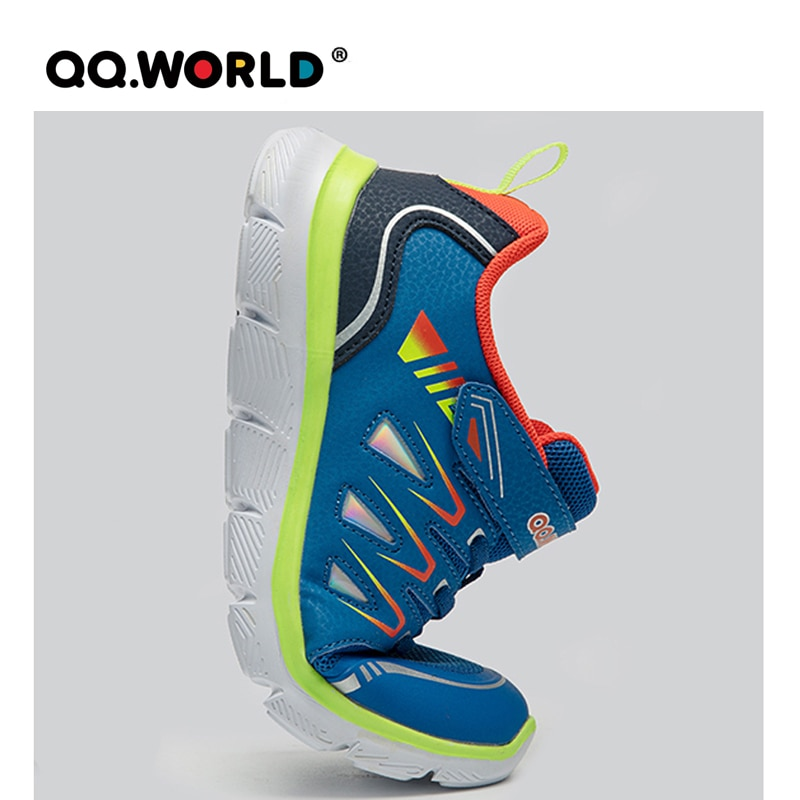 QQ WORLD 2021 New Children's Outdoor Sports Running Shoes for Boys Girls Fashion Sneaker Walking Footwear Breathable Comfortable enlarge