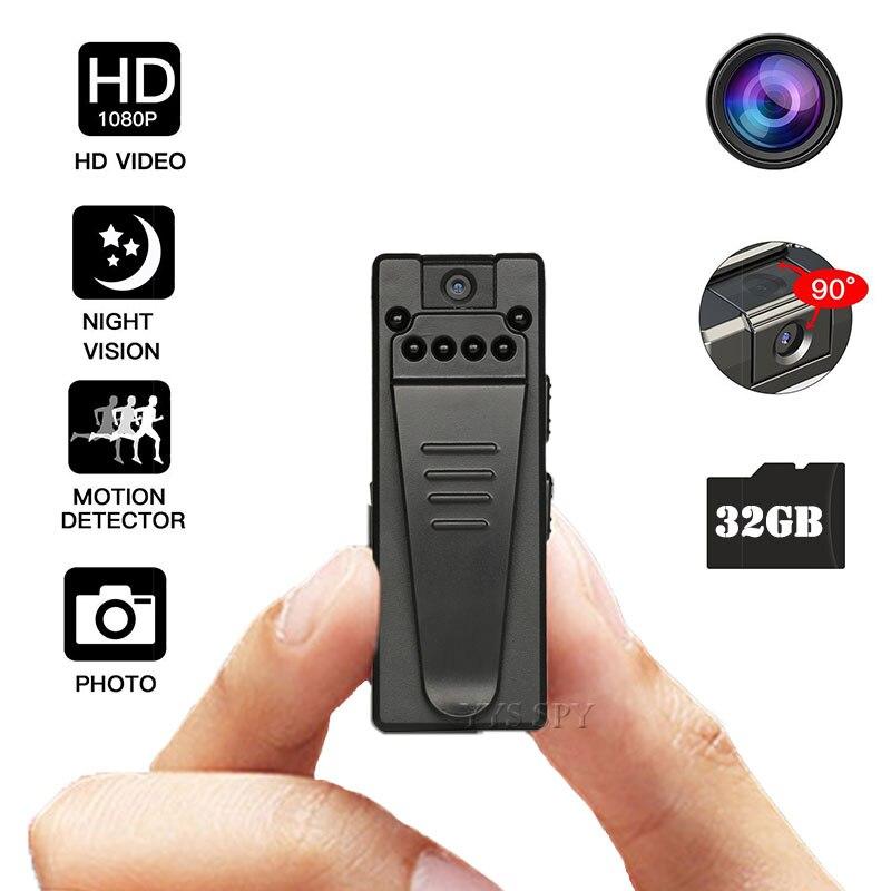 1080P Mini cámara HD Video y sonido Clip grabador DV de la...