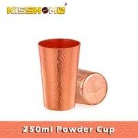 250ml ad copper powder cup grinder coffee powder manual hand powder cup coffee powder cup coffee grinder accessories