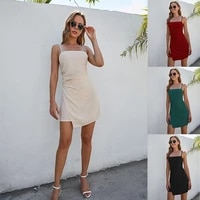 the new summer womens pleated mini dress has become an instagram influencer